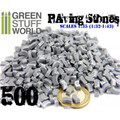 GREEN STUFF WORLD 9209 - 500x Paving Stones - Grey