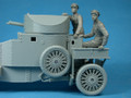 COPPER STATE MODELS F35-006 - 1/35 British RNAS Armoured Car Division Seated Crewman