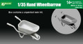 J'S WORKS PPA3135 - 1/35 Hand Wheelbarrow