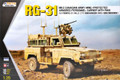 KINETIC K61010 - 1/35 Canadian Army Mine-Protected Armored Personnel Carrier with RWS