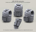 LIVE RESIN LRE-35109 - 1/35 CONDOR 5.56 mm MOLLE Rifle Magazine Pouches