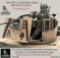 LIVE RESIN LRM-35012 - 1/35 US MARSOC / Navy Seals GMV-M Turret Gunner