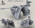 LIVE RESIN LRE-35051 - 1/35 M2 Browning .50 Caliber Machine Gun