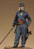 METAL MODELES SE7 - 54mm Second Lieutenant, Chasseur of Orléans 1845