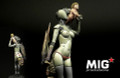 MIG PRODUCTIONS H80-125 - 80mm Angel Hunter Cyborg Woman