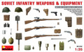 MINIART 35102 - 1/35 Soviet Infantry Weapons & Equipment