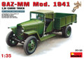 MINIART 35130 - 1/35 GAZ-MM Mod. 1941, 1,5t Cargo Truck