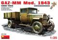 MINIART 35134 - 1/35 GAZ-MM Mod. 1943 Cargo Truck