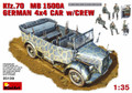 MINIART 35139 - 1/35 Kfz.70 MB 1500A German 4x4 Car w/crew