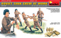MINIART 35153 - 1/35 Soviet Tank Crew at Work - Special Edition