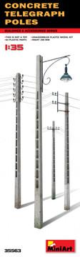 MINIART 35563 - 1/35 Concrete Telegraph Poles