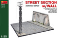 MINIART 36052 - 1/35 Street Section w/ Wall