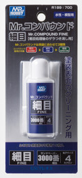 MR. HOBBY GUNZE SANGYO R189 - Mr. Compound Fine 3000 (25ml)