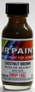 MR. PAINT MRP-166 - Chestnut Brown (30ml)