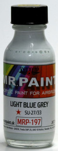 MR. PAINT MRP-197 - Light Blue Grey SU-27/33 (30ml)