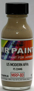 MR. PAINT MRP-80 - US Modern AFVs (30ml)