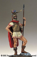 PEGASO MODELS 54-024 - 54mm Thracian Noble, Heavy Cavalryman, IV B.C.