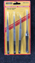CHAVES 05046 - Set of 4 Tweezers 160mm