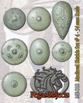 PEGASO MODELS ME-010 - 54mm Medieval Shields Set #4