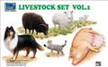 RIICH MODELS RV 35007 - 1/35 Livestock Set Vol.1