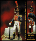 ROMEO MODELS ROM54089 - 54mm Officer of the Navy Guard - Naple's Kingdom 1811-15