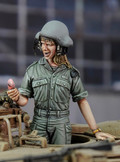 ROYAL MODEL 695 - 1/35 Israeli Woman Tanker (Call From My Boyfriend)