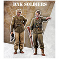 SCALE 75 SW48-002 - 1/48 DAK Soldier
