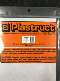 PLASTRUCT SSM-101 91201 - Clear Styrene Sheet 0.3x175x300l - 3 pcs