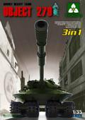 TAKOM MODEL 2001 - 1/35 Object 279 Soviet Heavy Tank