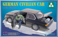 TAKOM MODEL 2005 - 1/35 German Civilian Car w/Gas Rockets