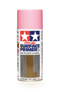 TAMIYA 87146 - Fine Surface Primer L Pink Spray (180ml)