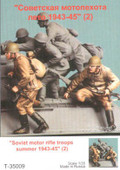 TANK T-35009 - 1/35 Soviet Motor Rifle Troops, Summer 1943-45