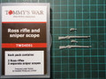 TOMMY'S WAR TW54E01 - 1/32 Ross Rifle and Sniper Scope