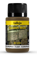 VALLEJO 73801 - Wet European Splash Mud (40ml)