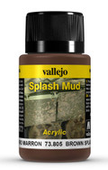 VALLEJO 73805 - Wet Brown Splash Mud (40ml)
