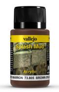 VALLEJO 73805 - Wet Brown Splash Mud (40ml)