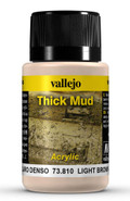 VALLEJO 73810 - Light Brown Thick Mud (40ml)