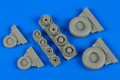 WHEELLIANT 148 013 - 1/48 F-14A Tomcat Weighted Wheels