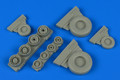 WHEELLIANT 148 014 - 1/48 F-14A Tomcat Weighted Wheels