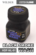 WILDER LINE NL01 - Black Smoke Wash (50ml)