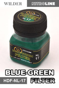 WILDER LINE NL17 - Blue-Green Filter (50ml)