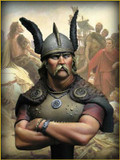 YOUNG MINIATURES YH1810 - 1/10 Vercingetorix, Gallic Wars B.C. 52