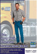 MASTER BOX LTD MB24042 - 1/24 Truckers Series Stan Long Haul