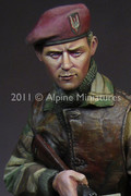 ALPINE MINIATURES 16013 - 1/16 WW2 British S.A.S. Commando