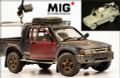 "MIG PRODUCTIONS MP 35-292 - 1/35 Damaged Modern Pickup Hilux, ""Veteran Warrior"""