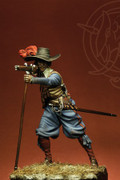 ROMEO MODELS ROM75010 - 75mm French Musketeer - 1618-1625