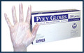 POLY POLYETHYLENE GLOVES 100 GLOVES, 10 BOXES PER CASE SPECIAL OFFER!! SEE BELOW!!