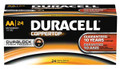 DURACELL® COPPERTOP® ALKALINE BATTERY WITH DURALOCK POWER PRESERVE™ TECHNOLOGY Battery, Alkaline, Size AA, 24/pk, 6 pk/cs (UPC# 51548) (SPEICAL OFFER!! SEE BELOW!!)$126.54/CASE