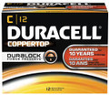 DURACELL® COPPERTOP® ALKALINE BATTERY WITH DURALOCK POWER PRESERVE™ TECHNOLOGY Battery, Alkaline, Size C, 12/pk, 6 pk/cs (UPC# 01401) (SPEICAL OFFER!! SEE BELOW!!)$144.72/CASE