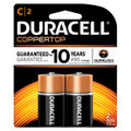 DURACELL® COPPERTOP® ALKALINE RETAIL BATTERY WITH DURALOCK POWER PRESERVE™ TECHNOLOGY Battery, Alkaline, Size C, 2pk, 48/cs (UPC# 09161) (SPEICAL OFFER!! SEE BELOW!!)$177.12/CASE